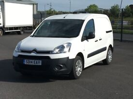 2014 CITROEN BERLINGO HDI ENTERPRISE. AIRCON. 3 SEATS. PARK ASSIST. ONLY 30K MILES. IMMACULATE VAN.