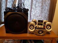 Logitech Z-5500 THX Certified 5.1 Speaker System