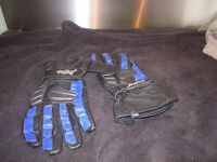 LEATHER XL BUFFALO MOTORCYCLE GLOVES