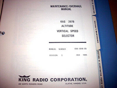 King KAS-297B Altitude Select  Service Manual