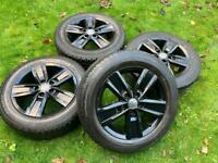 "17"" 18"" VW Transporter T6 T5 Alloy Wheels T32 Tyres"