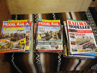 Several years of Model Railway Magazines in good condition.