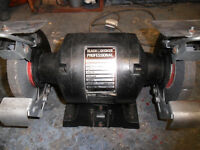 bench grinder black and decker swap not free