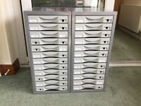 12drawer filing cabinets, were £90 each new, first £60 for the pair, must collect Dalgety Bay