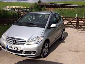 Mercedes A160 FSH Long MOT