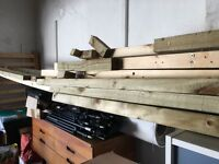 Various lengths of timber 2x2 average length 2.4mtr