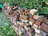 Free - Big pile of used red bricks - Freebie
