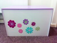 Girls wooden storage box/chest