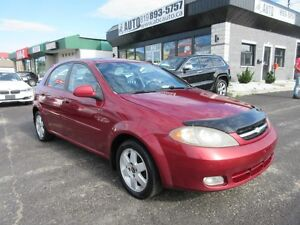 2004 Chevrolet Optra 5 LS (Sunroof, automatic, A/C, Electric doo
