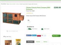 Chicken coop/hutch. New in box