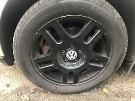 16 inch Golf gti turbo alloys with good tyres £120