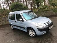 2007 57 PEUGEOT PARTNER 1.4 COMBI TOTEM ** WITH ONLY 35,000 MILES - WHEELCHAIR ACCESS + WINCH **