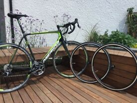 Marida Scultura CF4 Ultra light Road Bike + Brand New Wheelset