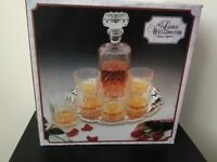The Lord Wellington Collection - Cristal d'Arques Whisky Set