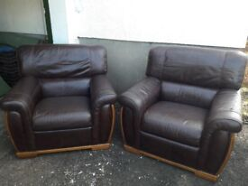 Comfy Leather Armchairs for Sale - perfect quality