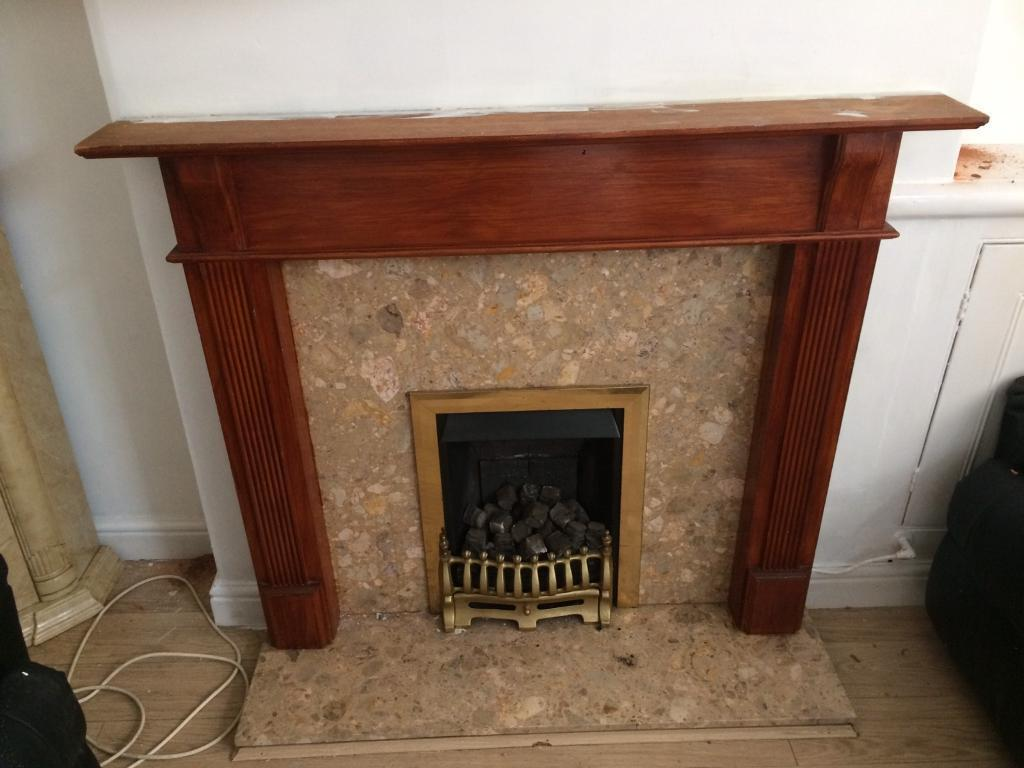 Fireplace Marble Woodin Leicester, LeicestershireGumtree - Fireplace with marble surroundWooden frame around fireplace black and gold fireplace used in very good condition hardly usedOpen to offers
