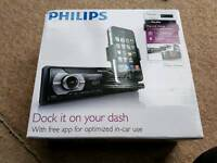 PHILIPS CMD310 RADIO CD HEAD UNIT IPOD IPHONE DOCKING NEW IN BOX