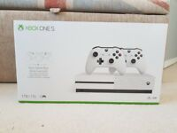 Xbox One S 1TB Two Controller Console Bundle - New and Sealed