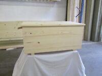 pine toy box storage box for sale new unused