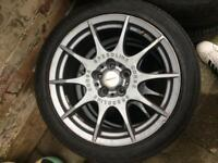 Speed line corse aftermarket alloys