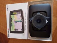 Tomtom Satnav Via 62 with lifetime UK and European maps- NEVER USED