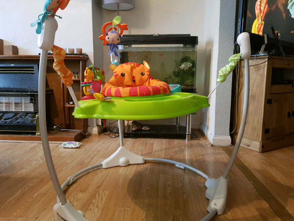 Fisher-price green jumperoo