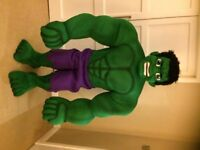 SUPER DELUX PROFESSIONAL HULK MASCOT FANCY DRESS LIGHT FOAM