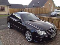Mercedes Benz CLK coupe