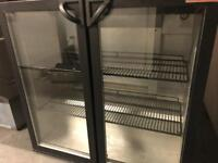 Commercial bar fridges double door catering restaurant hotels pubs equipment
