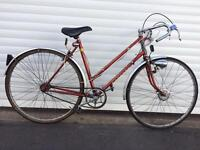 Vintage Raleigh Racer bike Newly serviced