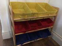 3 tier toy storage