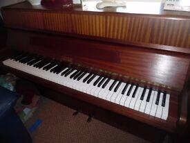 upright greman piano by geyer