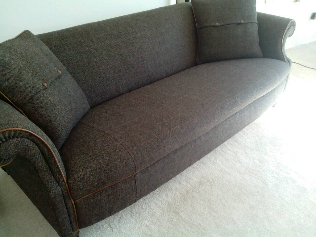 Harris Tweed sofa