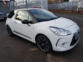 Citroen DS3 1.6 E-HDI DSTYLE + 3d 118 BHP 1 LADY OWNER FROM NEW 2014**GREAT COLOUR COMBINATION**