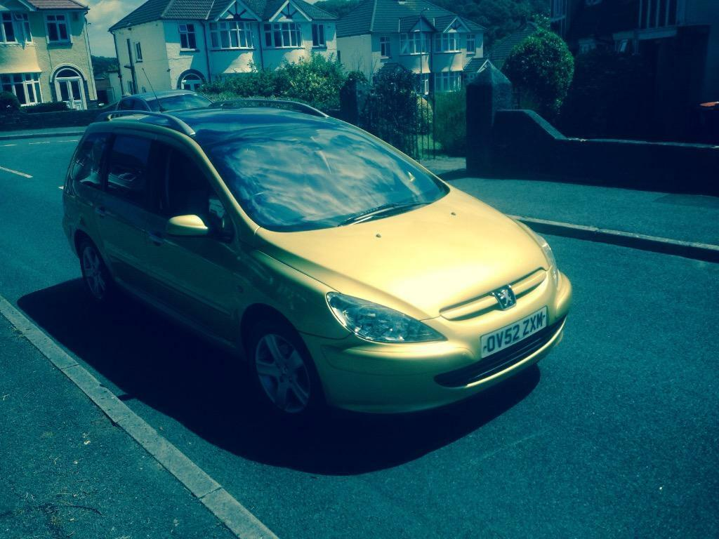 52 plate 03 peugeot 307 sw 2 0 hdi 110 se 7 seater estate in newport gumtree. Black Bedroom Furniture Sets. Home Design Ideas