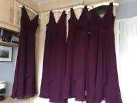 4 x bridesmaid dresses ** brand new **