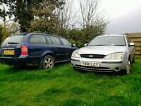 Cars for sale ford mondeo and skoda octavia