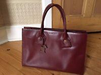 Radley handbag (burgundy)