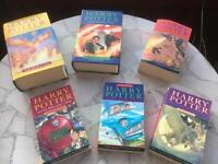 Harry Potter Books as new