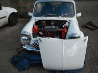 Classic mini for good condition, garaged, only used for shows.