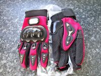 Motorcycle Gloves by Pro-Biker (size L, but fit an easy medium also)