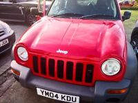 Jeep Cherokee - NEW CAMBELT - NEW FRONT TYRES- NEW PROP END
