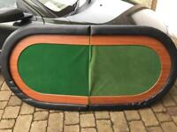 Poker card games table used decent condition