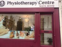 New Professional Physiotherapy Massage Gravesend DA12 Area