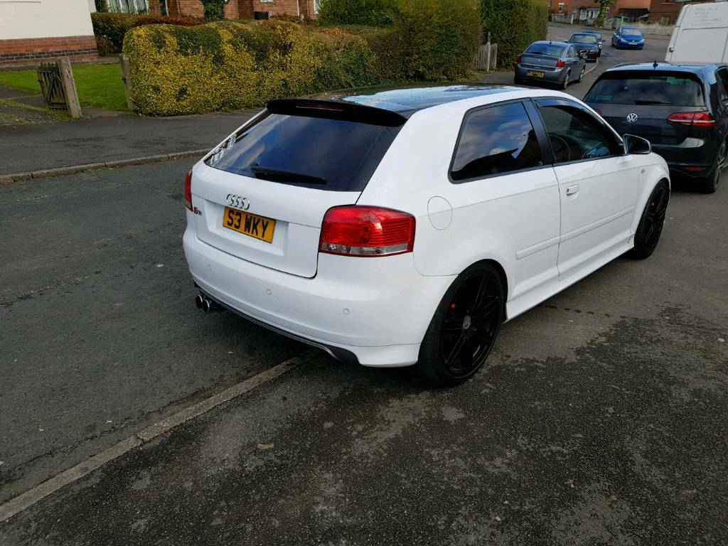 audi a3 2 0 tdi s3 replica modified in ilkeston. Black Bedroom Furniture Sets. Home Design Ideas