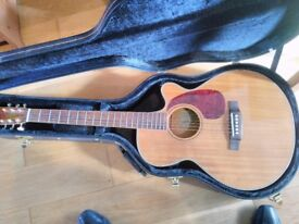 Hudson HDST-CAFB Firefly Semi-Acoustic Guitar