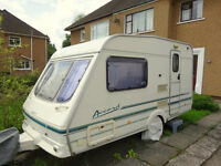 2000 Limited Edition Swift Accord 390 2 Berth Caravan
