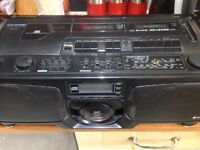 Hitachi cx-w700 1988 ghetto blaster
