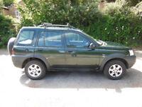 Land Rover Freelander 1.8 GS 2002 (51 plate) MOT drives for spares or repair see description
