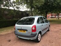CITROEN PICASSO 1.6 PETROL MPV 04 REG 12 MONTHS MOT NEW CLUTCH TIMING BELT REPLACED LOW INSURANCE